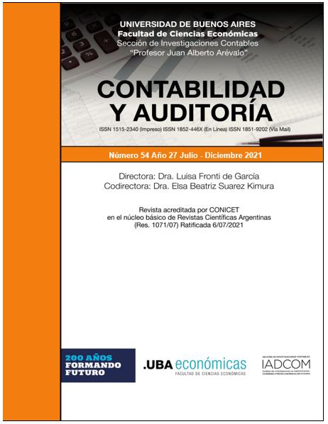 Contabilidad y Auditoría_N° 54 año 27_2021