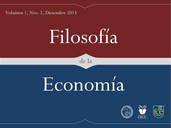 Filosofía de la Economía Vol 1, Nro 2, Diciembre 2013.